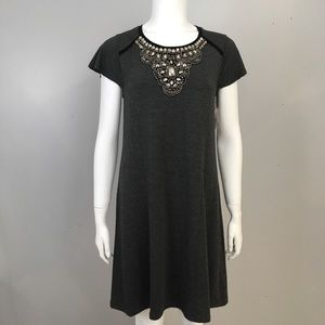 Kensie Charcoal Sequence Dress